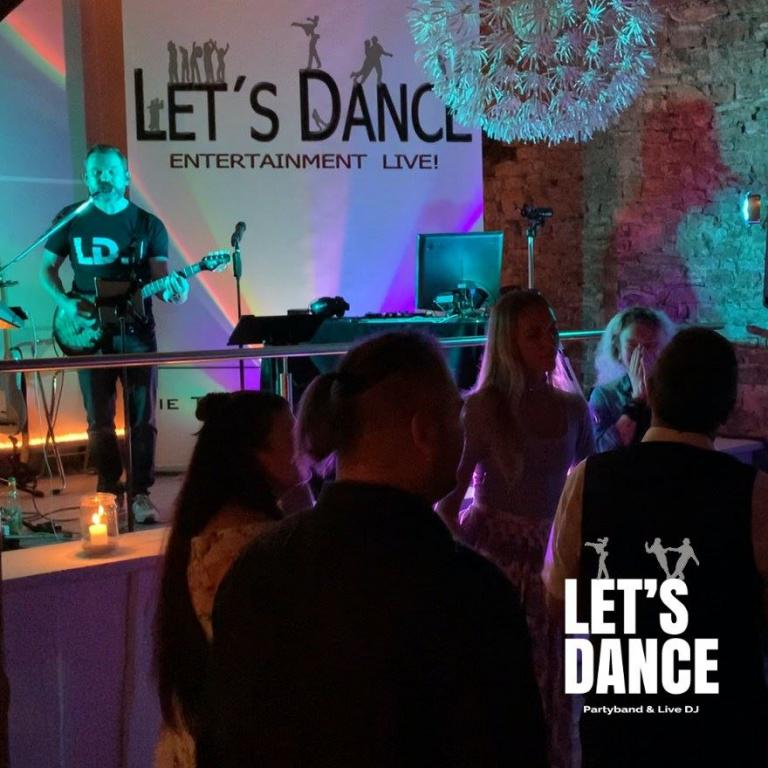 Roemerhof Kitzigen, Live DJ, Partyband (Coverband) Let's Dance